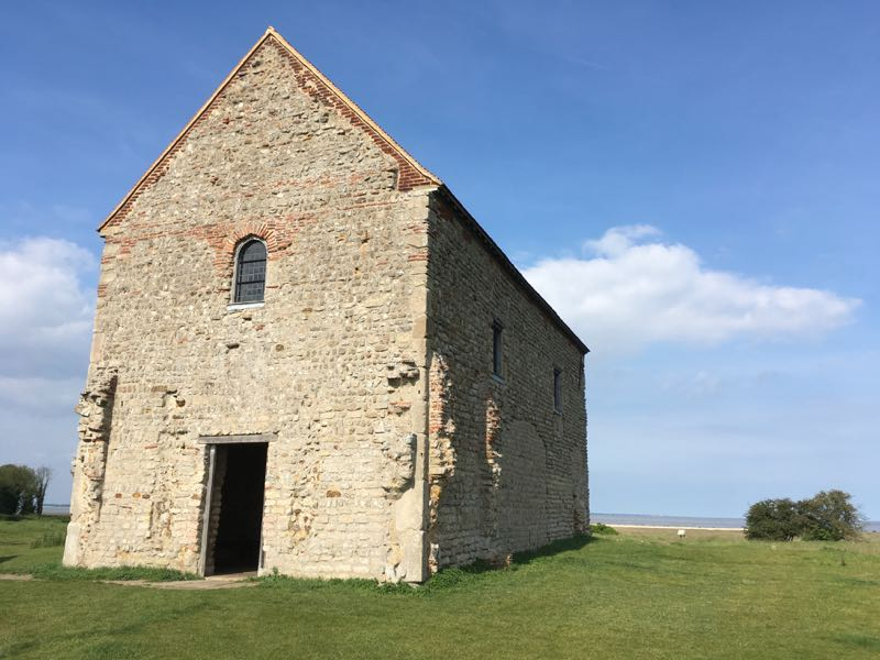 St. Peter on the wall - Bradwell